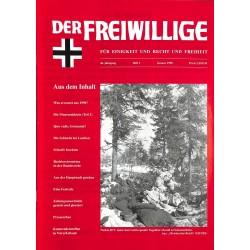 2007197 No. 1-1998 DER FREIWILLIGE - Waffen-SS veteran magazine -