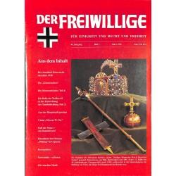 2007199 No. 3-1998 DER FREIWILLIGE - Waffen-SS veteran magazine -