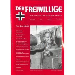2007200 No. 4-1998 DER FREIWILLIGE - Waffen-SS veteran magazine -