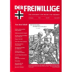 2007201 No. 5-1998 DER FREIWILLIGE - Waffen-SS veteran magazine -