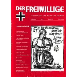2007203 No. 1-1999 DER FREIWILLIGE - Waffen-SS veteran magazine -