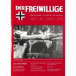 2007204 No. 2-1999 DER FREIWILLIGE - Waffen-SS veteran magazine -