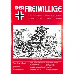 2007205 No. 5-1999 DER FREIWILLIGE - Waffen-SS veteran magazine -