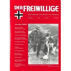 2007206 No. 6-1999 DER FREIWILLIGE - Waffen-SS veteran magazine -