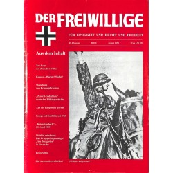 2007207 No. 8-1999 DER FREIWILLIGE - Waffen-SS veteran magazine -