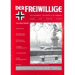 2007208 No. 12-1999 DER FREIWILLIGE - Waffen-SS veteran magazine -