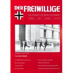 2007209 No. 1-2000 DER FREIWILLIGE - Waffen-SS veteran magazine -