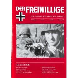 2007212 No. 7-2000 DER FREIWILLIGE - Waffen-SS veteran magazine -