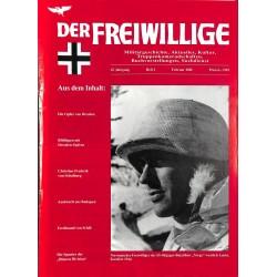 2007215 No. 2-2001 DER FREIWILLIGE - Waffen-SS veteran magazine -