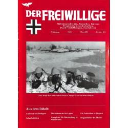 2007216 No. 3-2001 DER FREIWILLIGE - Waffen-SS veteran magazine -