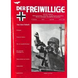 2007217 No. 4-2001 DER FREIWILLIGE - Waffen-SS veteran magazine -