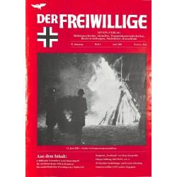 2007218 No. 6-2001 DER FREIWILLIGE - Waffen-SS veteran magazine -