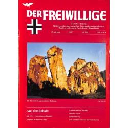 2007219 No. 7-2001 DER FREIWILLIGE - Waffen-SS veteran magazine -