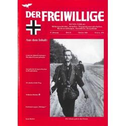 2007220 No. 10-2001 DER FREIWILLIGE - Waffen-SS veteran magazine -