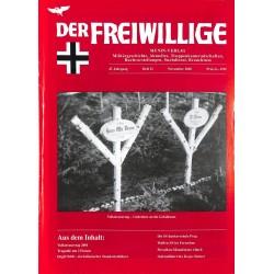2007221 No. 11-2001 DER FREIWILLIGE - Waffen-SS veteran magazine -