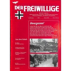 2007223 No. 1-2002 DER FREIWILLIGE - Waffen-SS veteran magazine -