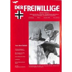 2007229 No. 12-2002 DER FREIWILLIGE - Waffen-SS veteran magazine -