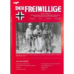 2007232 No. 4-2003 DER FREIWILLIGE - Waffen-SS veteran magazine -