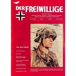 2007233 No. 6-2003 DER FREIWILLIGE - Waffen-SS veteran magazine -