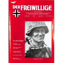 2007235 No. 8-2003 DER FREIWILLIGE - Waffen-SS veteran magazine -
