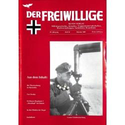 2007237 No. 10-2003 DER FREIWILLIGE - Waffen-SS veteran magazine -