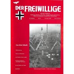 2007238 No. 11-2003 DER FREIWILLIGE - Waffen-SS veteran magazine -
