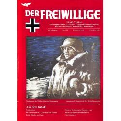 2007239 No. 12-2003 DER FREIWILLIGE - Waffen-SS veteran magazine -