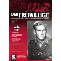 2007250 No. 4-2005 DER FREIWILLIGE - Waffen-SS veteran magazine -