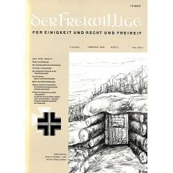 2007257 No. 2-1969 DER FREIWILLIGE - Waffen-SS veteran magazine -