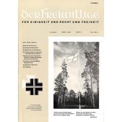 2007258 No. 3-1969 DER FREIWILLIGE - Waffen-SS veteran magazine -