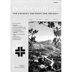 2007262 No. 7-1969 DER FREIWILLIGE - Waffen-SS veteran magazine -