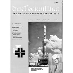 2007263 No. 8-1969 DER FREIWILLIGE - Waffen-SS veteran magazine -