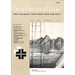 2007264 No. 9-1969 DER FREIWILLIGE - Waffen-SS veteran magazine -