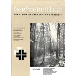 2007265 No. 10-1969 DER FREIWILLIGE - Waffen-SS veteran magazine -