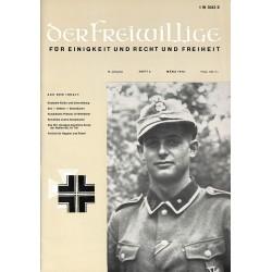 2007267 No. 3-1970 DER FREIWILLIGE - Waffen-SS veteran magazine -
