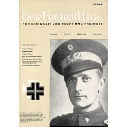 2007268 No. 4-1970 DER FREIWILLIGE - Waffen-SS veteran magazine -