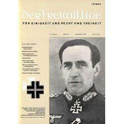 2007272 No. 8-1970 DER FREIWILLIGE - Waffen-SS veteran magazine -