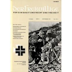 2007273 No. 9-1970 DER FREIWILLIGE - Waffen-SS veteran magazine -
