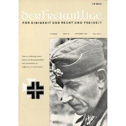 2007274 No. 10-1970 DER FREIWILLIGE - Waffen-SS veteran magazine -