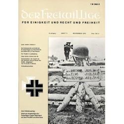 2007275 No. 11-1970 DER FREIWILLIGE - Waffen-SS veteran magazine -