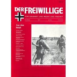 m2007/100 No. 6-1982 DER FREIWILLIGE - Waffen-SS veteran magazine -