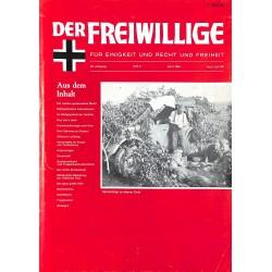 m2007/101 No. 4-1983 DER FREIWILLIGE - Waffen-SS veteran magazine -