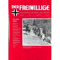 m2007/102 No. 9-1983 DER FREIWILLIGE - Waffen-SS veteran magazine -