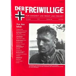 m2007/103 No. 11-1983 DER FREIWILLIGE - Waffen-SS veteran magazine -