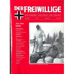 m2007/104 No. 12-1983 DER FREIWILLIGE - Waffen-SS veteran magazine -