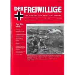 m2007/105 No. 2-1984 DER FREIWILLIGE - Waffen-SS veteran magazine -
