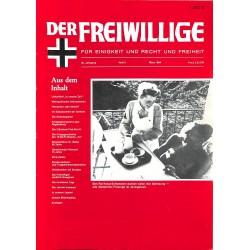 m2007/106 No. 3-1984 DER FREIWILLIGE - Waffen-SS veteran magazine -