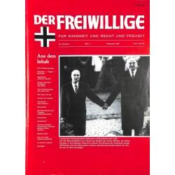 m2007/108 No. 11-1984 DER FREIWILLIGE - Waffen-SS veteran magazine -