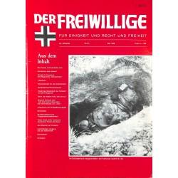 m2007/109 No. 5-1986 DER FREIWILLIGE - Waffen-SS veteran magazine -