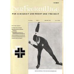 m2007/11 No. 1-1972 DER FREIWILLIGE - Waffen-SS veteran magazine -